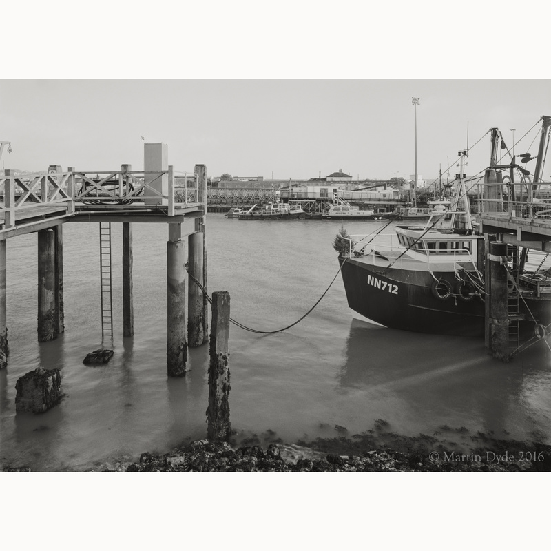 Newhaven Docks study 3 | The Silver Monochrome: black-and-white film photography by Martin Dyde