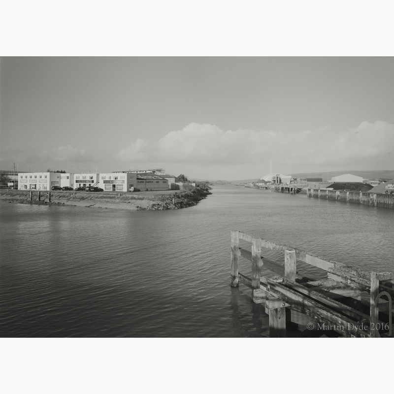 Denton Island and Newhaven Incinerator | The Silver Monochrome: black-and-white film photography by Martin Dyde