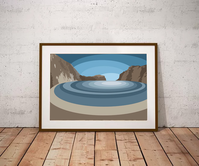 Lulworth Cove by Maxine Walter from £45 - Lulworth