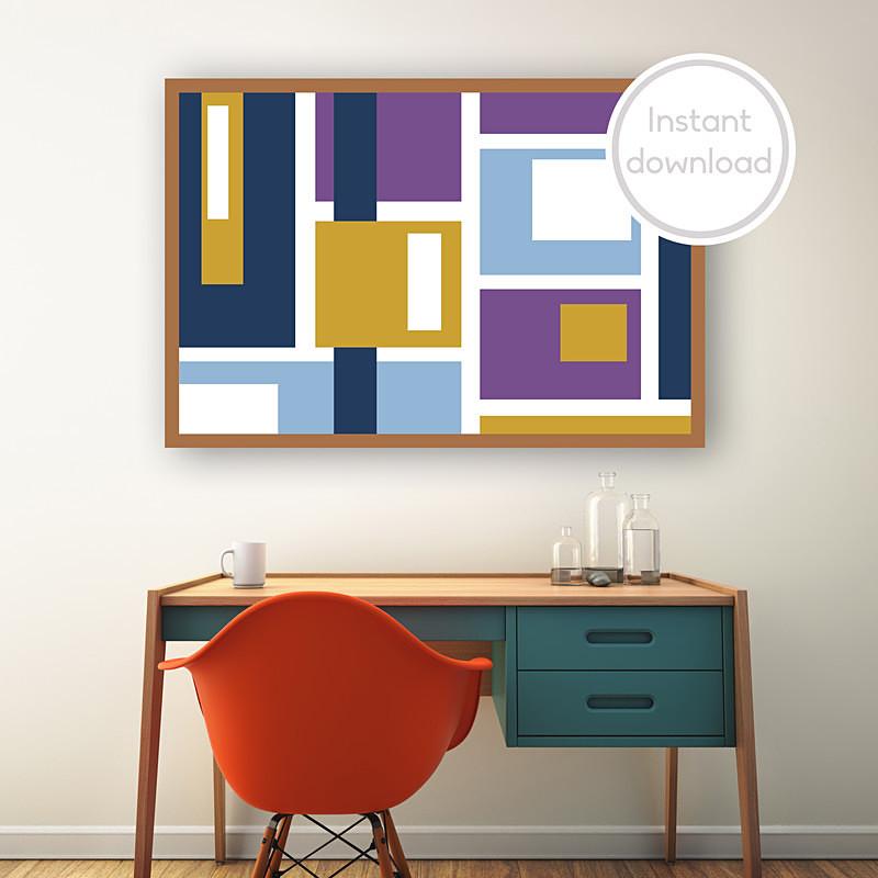 'Geometric 2' by Maxine Walter - Geometric
