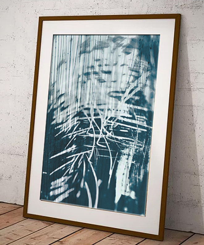 Limited edition digital art print for the modern home by Dorset Artist Maxine Walter