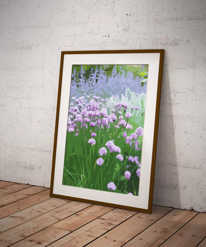 Lavender by Maxine Walter - Flora