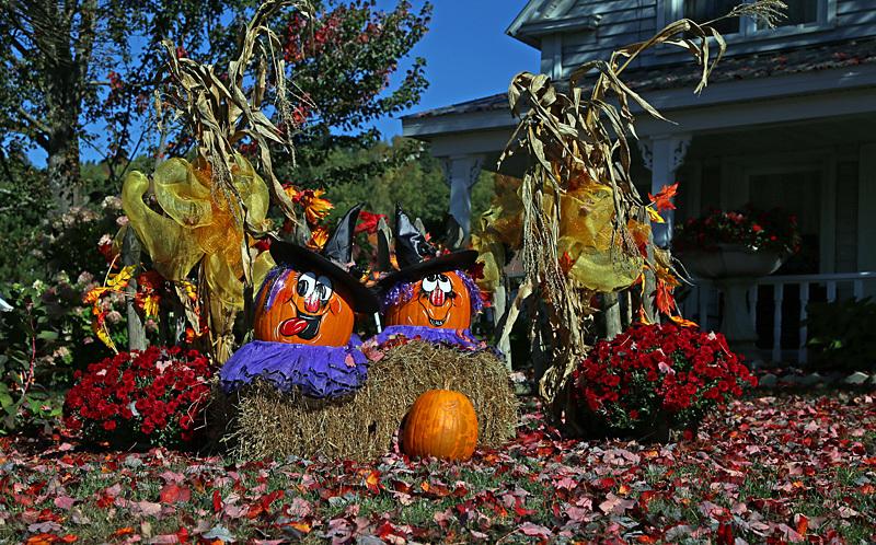 Halloween Display - Autumn Festival