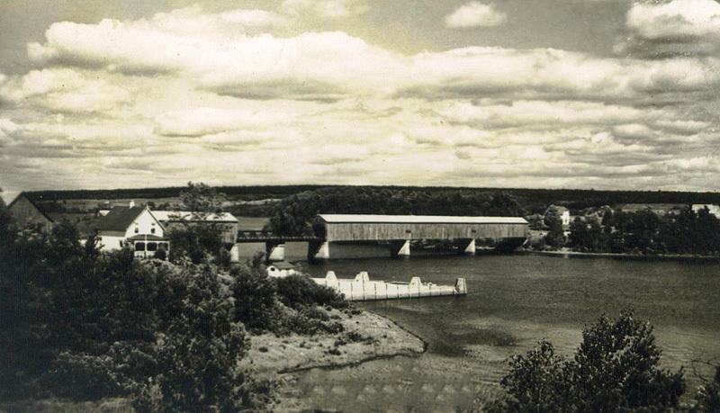 Cambridge Covered Bridge Queens County New Brunswick Canada - Historic New Brunswick