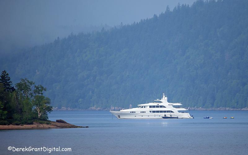 Mathers Island New Brunswick Canada - Playpen Luxury Yacht - New Brunswick Landscape