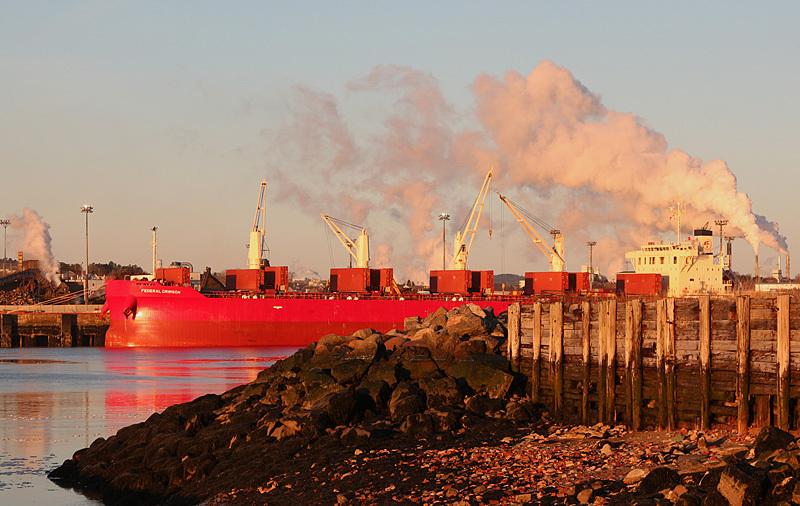 Federal Crimson Port of Saint John New Brunswick Canada - Boats