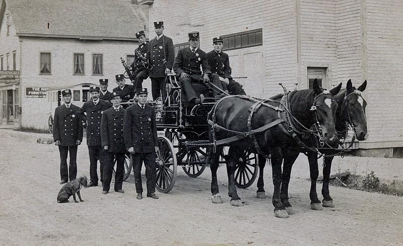 Fire Brigade St. John New Brunswick Canada 1900s - Historic New Brunswick
