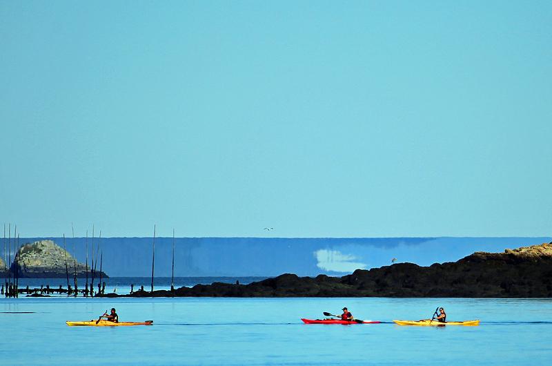Kayaking the Mirage - Sport & Recreation