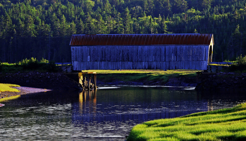 The Covered Bridges of New Brunswick Canada - New Brunswick Landscape
