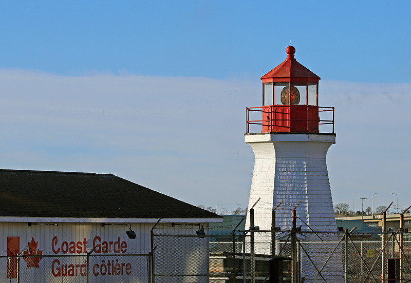 Saint John Coast Guard Base Lighthouse - Lighthouses of New Brunswick