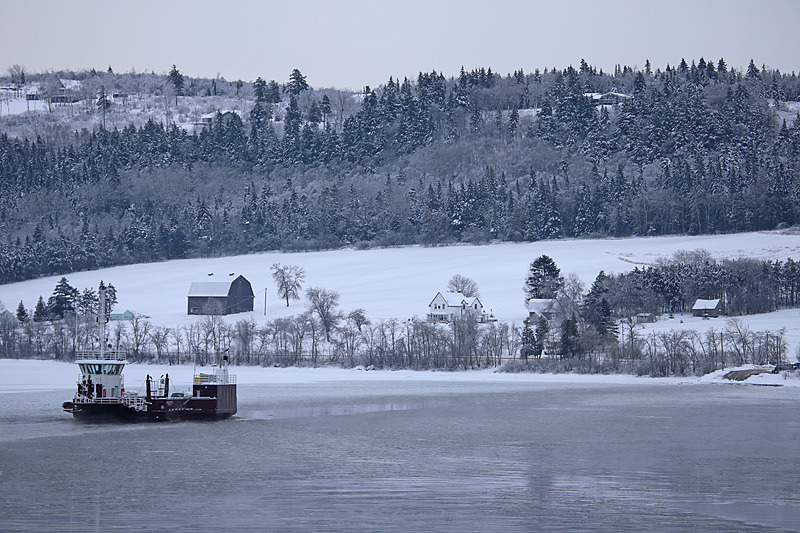 Bellelisle Bay - The Great Ice Storm of 2013