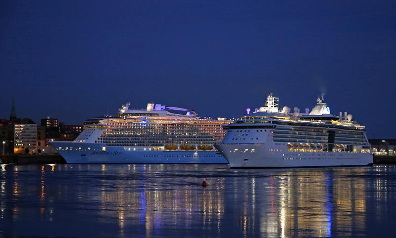 Cruise Ships Saint John New Brunswick Canada Royal Caribbean - Cruise Ships