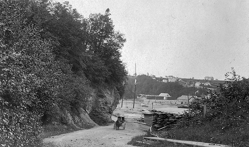 St. Martins New Brunswick Canada Early Street View - Historic New Brunswick