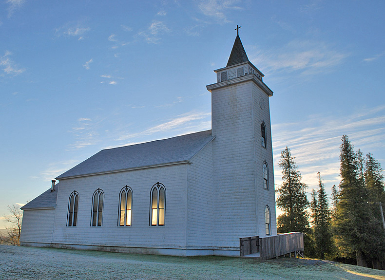 Trinity Church, Springfield, New Brunswick, Canada - Churches of New Brunswick