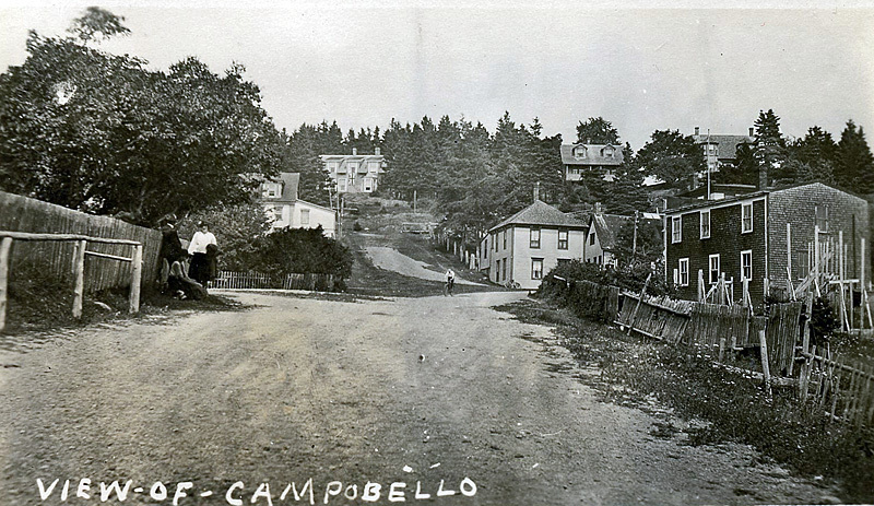 Campobello Island Street View 1900s New Brunswick Canada - Historic New Brunswick