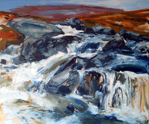 Breanish Waterfall | Contemporary Fine Art | Outer Hebrides | Scotland
