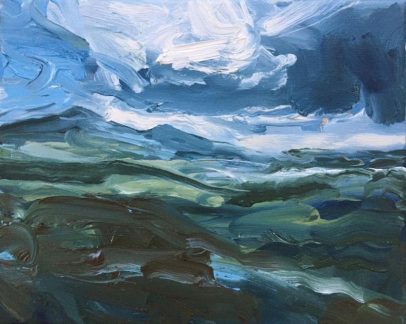 Uig Hills - Derek Scanlan: Artworks