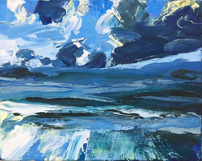 Uig Weather Front | Mangurstadh Gallery | Fine Art by Hebridean Artists