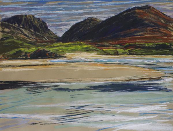 Uig Bay | Fine Art Landscapes| Mangurstadh Gallery | Western Isles