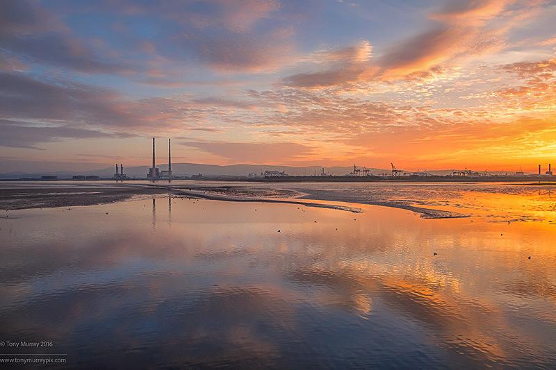 Poolbeg Sunset 30.10.2016 - Dublin