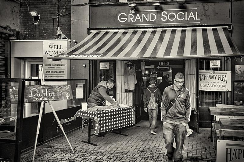 The Grand Social - STREET ~ B&W