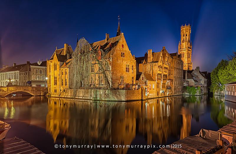 Blue Hour in Bruges - LANDSCAPES (outside Ireland)