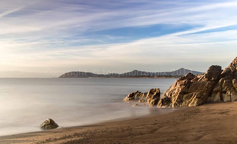 Sunrise at White Rock Beach Killiney - Killiney