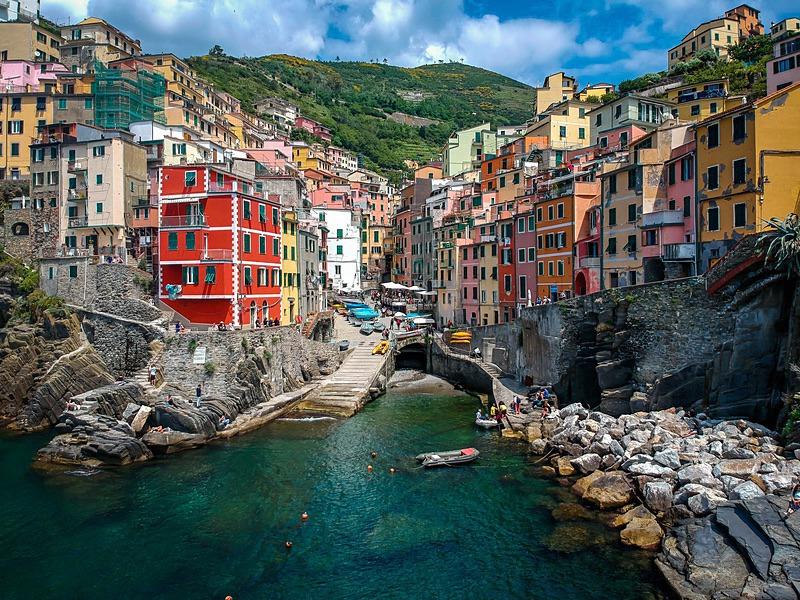 Riomaggiore - Aerial Photography
