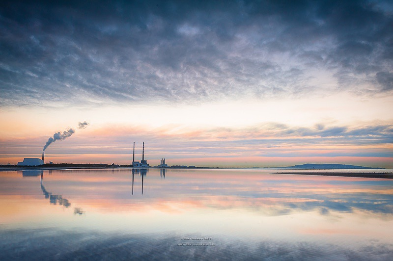 Dublin Bay sunset - Sandymount