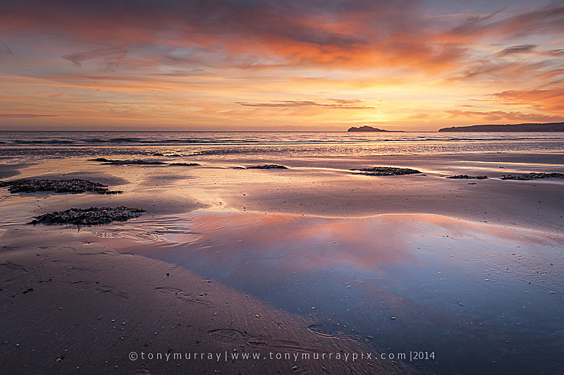 December Sunrise - Portmarnock