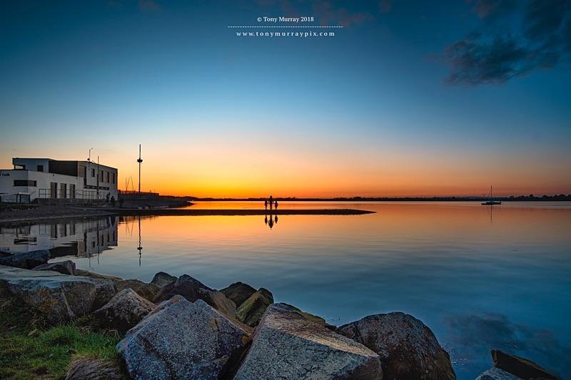 Admiring The sunset - Malahide