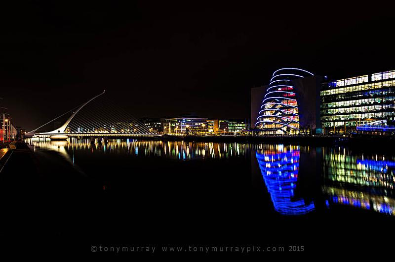 Reflections on the Liffey - Dublin
