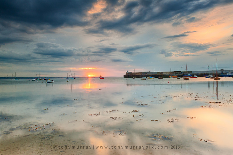 June Evening Light over Skerries Harbour - Skerries