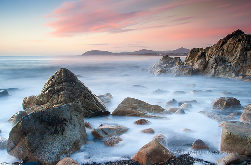 First light -at White Rock - Killiney