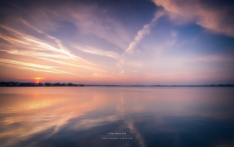 Estuary Sunset 24.02.2018 - Malahide