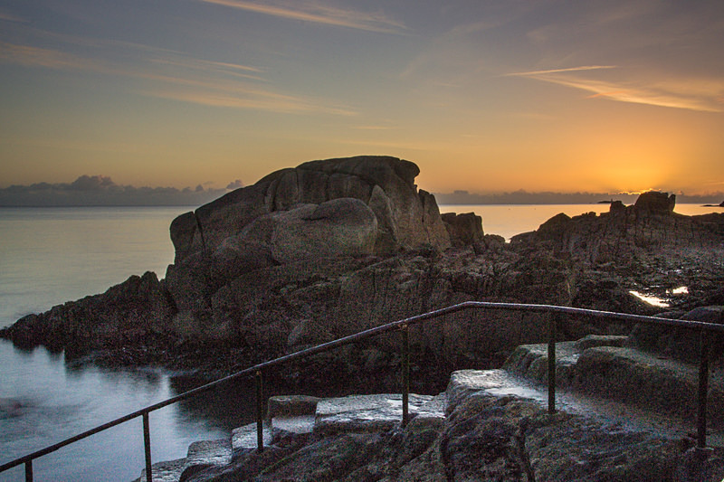 Sunrise at the Forty Foot, Sandycove. - Forty Foot