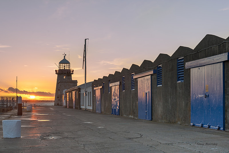 Sunset at Howth Lighthouse - Howth