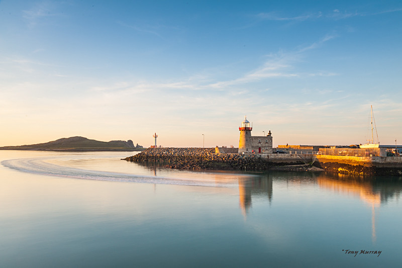 June evening sunset, Howth Harbour - Howth