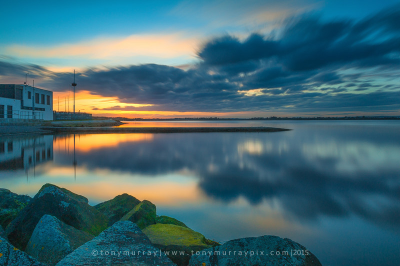Long Exposure Sunset over Malahide Estuary - Malahide