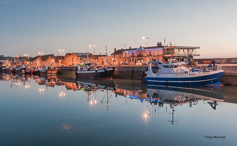 Boat Reflections - Howth
