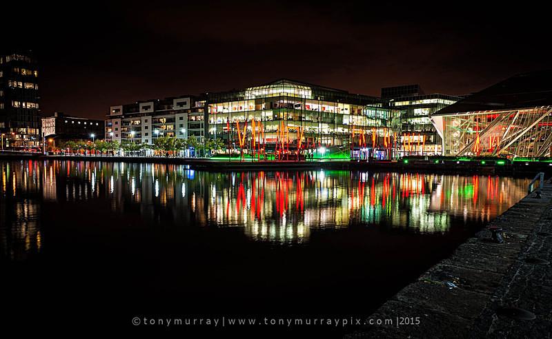 Grand Canal Dock reflections - Dublin