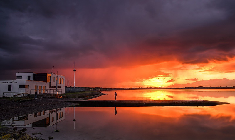 Estuary Sunset - Malahide