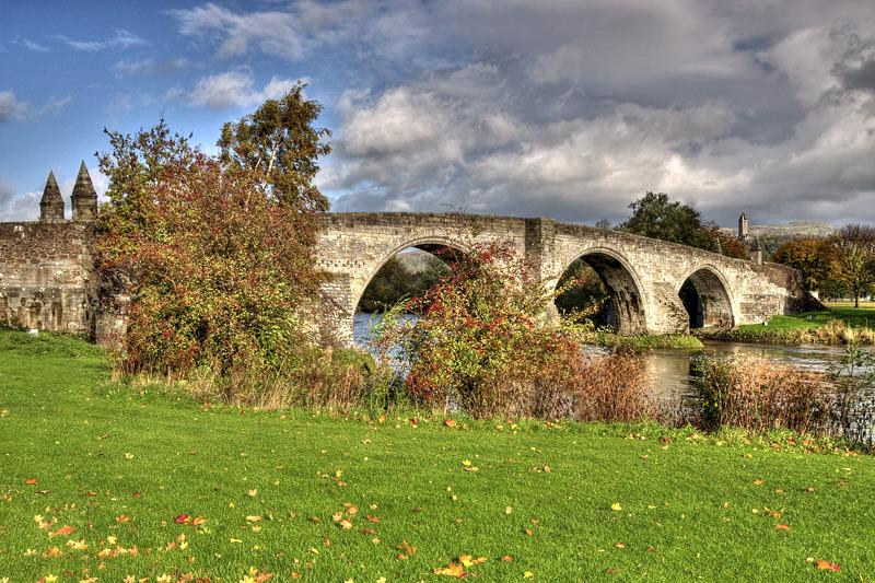 Stirling old bridge 01 - Clackmannan & Stirlingshire
