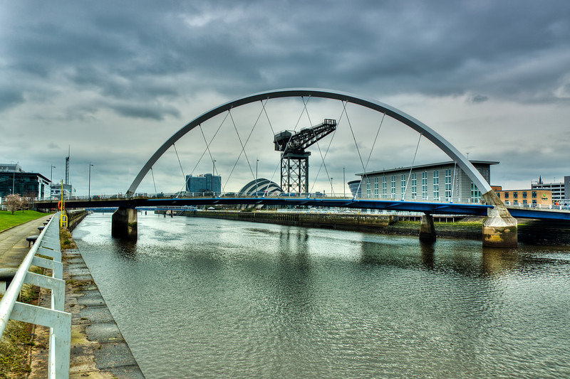 Finnieston crane  squinty bridge 04 - Glasgow & strathclyde
