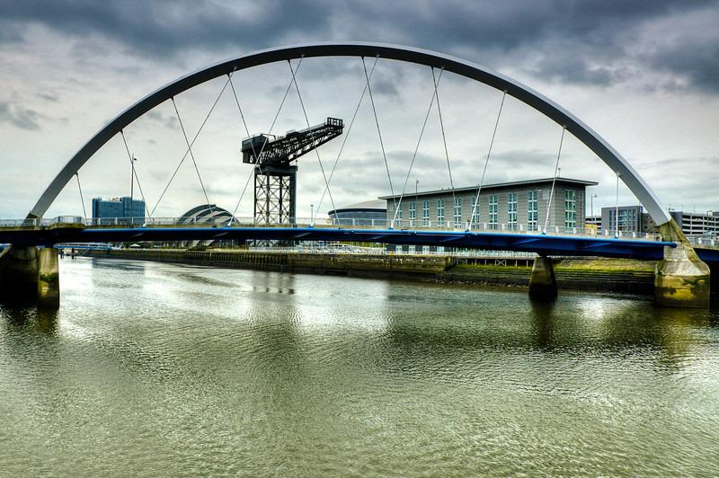 Finnieston crane  squinty bridge 02 - Glasgow & strathclyde