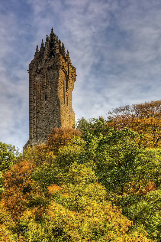 Wallace Monument CW park _01 - Clackmannan & Stirlingshire
