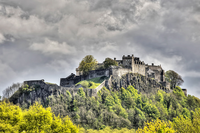 Stirling castle - Clackmannan & Stirlingshire
