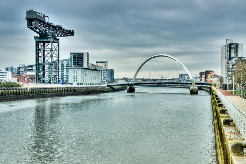 Finnieston crane  squinty bridge 03 - Glasgow & strathclyde