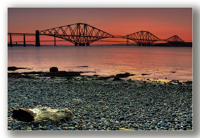 Forth Bridges Sunset - Edinburgh & the lothians.