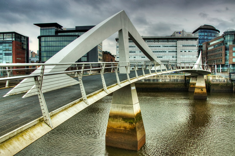Tradeston Bridge Glasgow - Glasgow & strathclyde